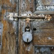 Stock Photo: Weathered door