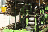 Sugar cane Juice extracting machine — Stock Photo