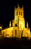 Christ Church at night — Stock Photo