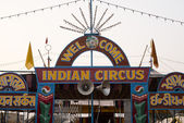 Sign board of a circus — Stock fotografie