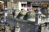 Domes of a mosque — Stock Photo