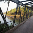 Stock Photo: Bridge across river, Goa, India