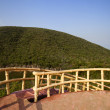 Watch tower in Kambala Konda Eco Tourism Park — Stock Photo #33288449