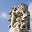 La Fontana dei Putti Statue — Stock Photo