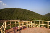 Watch tower in Kambala Konda Eco Tourism Park — Stock Photo