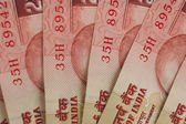 Close-up of Indian twenty rupee banknotes — Stock Photo