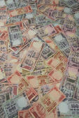 Variations of Indian Rupees — Stock Photo