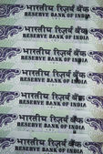 Close-up Indian One Hundred Rupee Notes — Stock Photo
