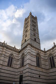 Low angle view of a bell tower — Stock Photo