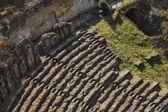Ruins of ancient roman amphitheatre — Stock Photo