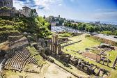 Ancient roman amphitheatre — Stock Photo
