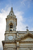 Bell tower of a cathedral — Stock Photo