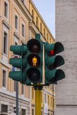 Close-up of a traffic light — Stock Photo