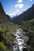 Yamuna River at Yamunotri, Garhwal Himalayas, Uttarkashi Distric — Stock Photo