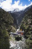 Yamunotri Temple at Yamunotri, Garhwal Himalayas, Uttarkashi Dis — Stock Photo
