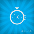 Stock Vector: Illustration of stopwatch icon