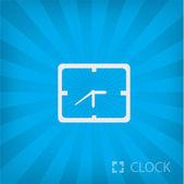 Ilustração de ícone de relógio — Vetor de Stock
