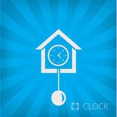Ilustração do ícone do relógio velho — Vetor de Stock