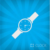 Illustration of clock icon — Stock Vector