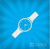 Illustration of clock icon — ストックベクタ