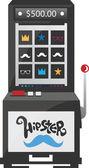 Gaming machine — Stock Vector