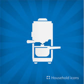 Illustration of Coffee Maker icon — Stock Vector