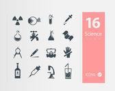 Vetenskap uppsättning — Stockvektor