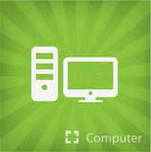 Bilgisayar simgesinin resmi — Stok Vektör