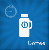 Vector illustration of Coffee cup icon — Stock Vector
