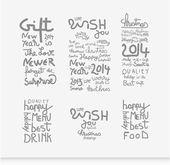 Calligraphic elements vintage — Cтоковый вектор