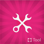 Wrench Tool icon — Stock Vector