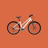 Icona di bicicletta — Vettoriale Stock