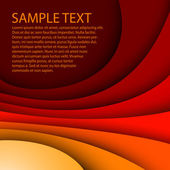 Abstract red background — Vector de stock