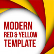 Abstract colorful red and yellow background  — 图库矢量图片