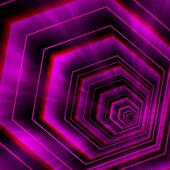Abstract violet hexagon background — Stock Vector