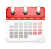 Vector Cartoon Business Calendar — Stockvektor