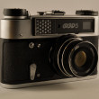 Retro camera FED — Stockfoto