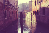 Vintage de veneza — Foto Stock