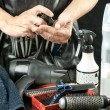 Stylist With Tools — Foto Stock