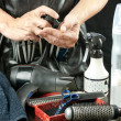 Stylist With Tools — Stock Photo
