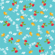 Seamless fairy pattern — Stock Vector