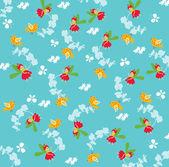 Seamless fairy pattern — Stock Vector