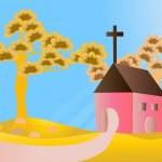 Kilise — Stok Vektör #35571187