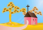 Igreja — Vetor de Stock