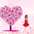 Love tree — Stock Photo
