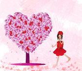 Love tree — Stock Photo