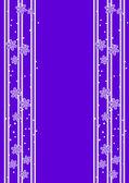 Purple flowers background — Stock Vector