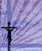 İsa'nın çarmıha germe — Stok fotoğraf