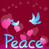 Peace Dove — Stock Vector