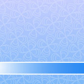 синий цветочный фон — Cтоковый вектор